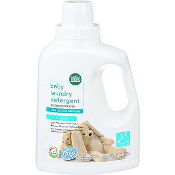 Whole Foods Market, Baby Laundry Detergent 2X Concentrated, Unscented, 50 fl oz