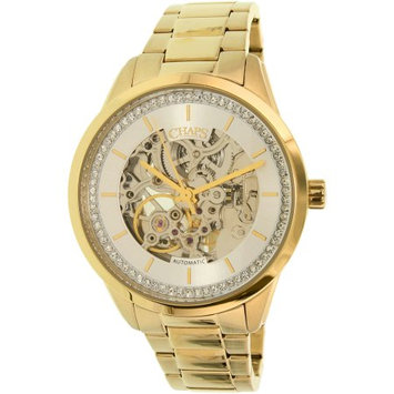Chaps Women's Kasia CHP9508 Gold Stainless-Steel Automatic Fashion Watch