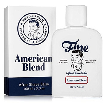 Fine Accoutrements American Blend Alcohol-Free After Shave Balm, Soothes and Relieves, Moisturizes and Protects with Chamomile Witch Hazel...