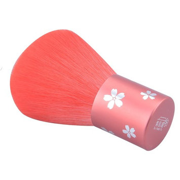 CSB Makeup Brushes Kabuki Brush Foundation Synthetic Hair Brush Nylon Hair Kabuki Blush Brush Red