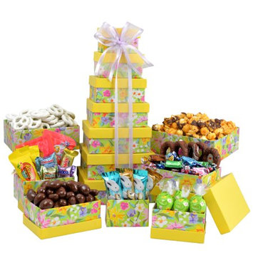 Broadway Basketeers Gourmet Chocolate Easter Treasures Tower