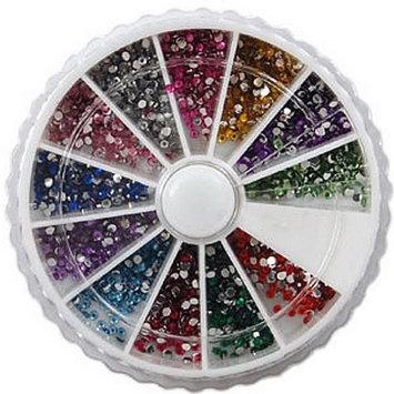 12 type decoration tips colorful shiny powder nail art