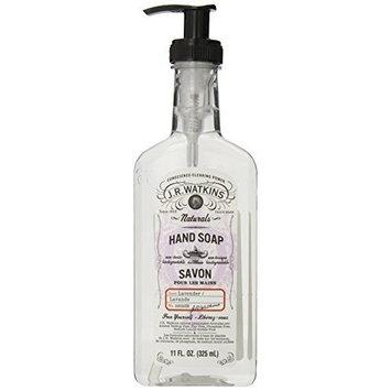 J.R. Watkins Liquid Hand Soap, Lavender, 11 ounce (Pack of 6)