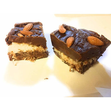 Coconut Chocolate Fudge with Almonds 1/2 pound