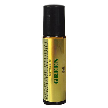 Perfume Studio Perfume Oil IMPRESSION of Polo for Men; A Pure Alcohol Free Perfume Oil (GENERIC VERSION), 10ml Amber Glass Roll On Bottle. (GREEN)