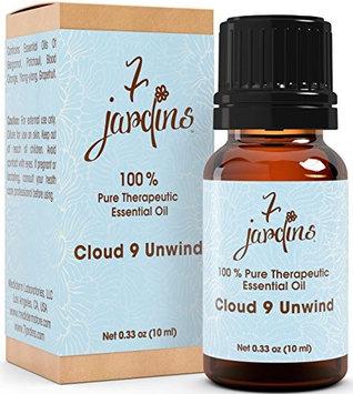 7 Jardins 100% Pure Essential Oil Blend Patchouli Frankincense Sage, Meditation