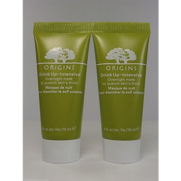 Set of Two: Origins Drink up Intensive Overnight Mask 15 Ml/0.5 Oz