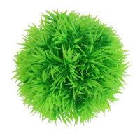 Aritficial Green Plastic Ball Plants Ornament for Aquarium