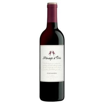 Menage a Trois Zinfandel Wine, 750 ml