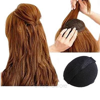 Ragdoll50 2Pcs Hair Piece Updo Tuck Comb Hair Styling Accessories for Hair Beauty, Black