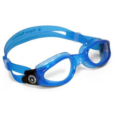 Aqua Lung 171200 KAIMAN BLUE GOGGLE CLR LENS SM