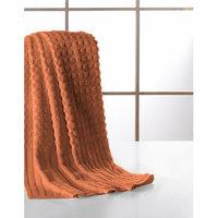 Berrnour Home Pure Cotton Collection 100% Authentic Towels Luxury Bath Towel, Orange