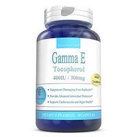 Vitamin e 400 IU Natural 90 Capsules - Gamma E Mixed Tocopherols Ideal Vitamin e For Men and Women by BoostCeuticals