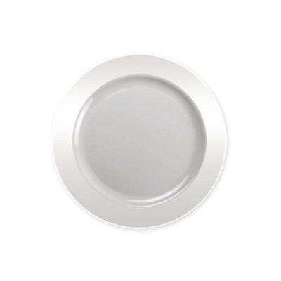 Lillian Dinnerware, Magnificense Plastic Plate, Clear, 6.25', 40 Ct