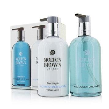 Molton Brown Blue Maquis Hand Care Set: Fine Liquid Hand Wash 300Ml/10Oz + Soothing Hand Lotion 300Ml/10Oz 2Pcs