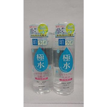 Rohto Hadalabo Kiwamizu Mineral Amino Lotion 13.5fl/oz(400ml) 2bottle