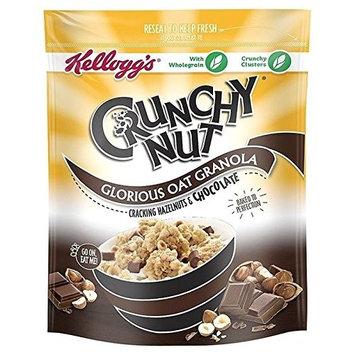 Kellogg's Crunchy Nut Oat Granola Chocolate & Hazelnut 380g - Pack of 2
