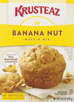 Krusteaz Muffin Mix, Banana Nut, Box