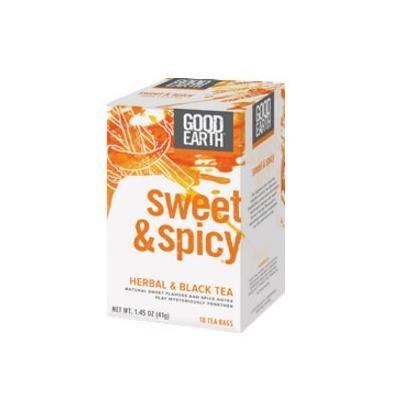 Good Earth Original Sweet & Spicy Tea & Herb Blend (18 Bag) (Pack of 6) - Pack Of 6