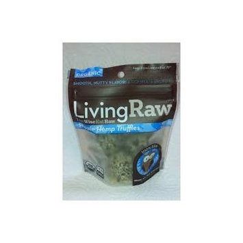 Living Raw Organic Hippy Hemp Truffles 1.64 Oz (12 Pack)
