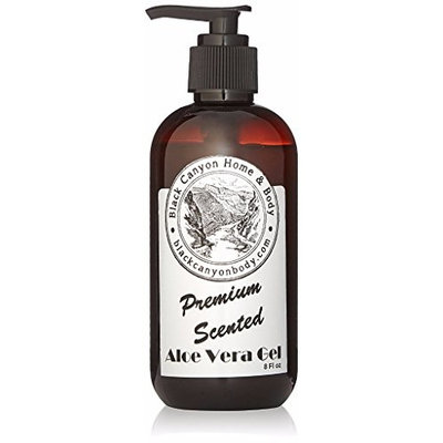 Black Canyon Vanilla Delight Argan Oil Aloe Vera Gel, 8 Oz