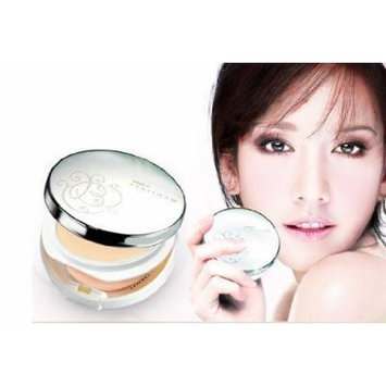 Sale-Mistine Number1 Platinum BB Perfect Press Powder Foundation SPF22- for white skin (Product of Thailand) by Mistine