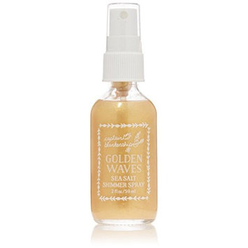 Captain Blankenship - Organic Golden Waves Sea Salt Shimmer Spray (2 oz)