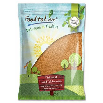 Food to Live Yellow Mustard Seeds (20 Pounds)
