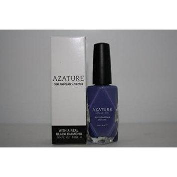 AZATURE Black Diamond Nail Lacquer, Light Lilac, 0.5 Fluid Ounce