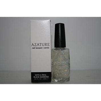 AZATURE Black Diamond Nail Lacquer, Glacier, 0.5 Fluid Ounce