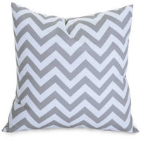 Majestic Home Goods Chevron Extra Large Decorative Pillow, 24