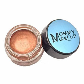 Any Wear Creme in Hot Fudge (a milk chocolate brown with copper shimmer) - The ultimate multi-tasking cosmetic - Smudge-proof Eye Shadow, Cheek Color, and Lip Color all-in-one by Mommy Makeup
