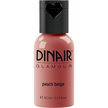 Dinair Airbrush Makeup Blush - Peach Beige - Glamour 1.15 oz.