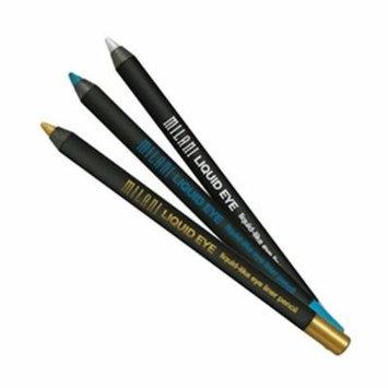 (3 Pack) MILANI LIQUID EYE Metallic Eyeliner Pencil - Gold
