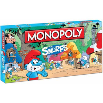 Usaopoly Monopoly - The Smurfs Collector's Edition