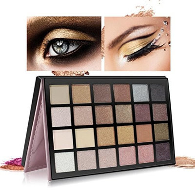 24 Colors Shimmer Matte Eyeshadow Base Palettes Glitter Baomabao Professional Gold Cosmetic Brush Applicators Mac Brushes Set
