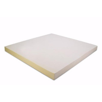 Full / Double Size 4 Inch Thick, 5 pound Density Visco Elastic Memory Foam Mattress Pad Bed Topper Made in the USA