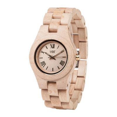 WeWood CRISS BEIGE 100% Natural Hypo-Allergenic Wood Watch
