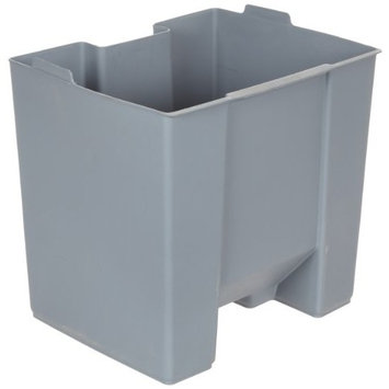Rubbermaid Commercial FG624600GRAY Rigid Liner for Rubbermaid 6146 Step-On Container