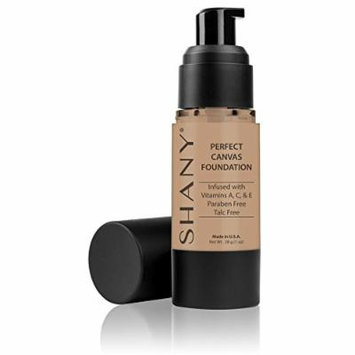 SHANY Perfect Canvas Liquid Foundation, Paraben/Talc/Oil Free, LC1, 1 oz