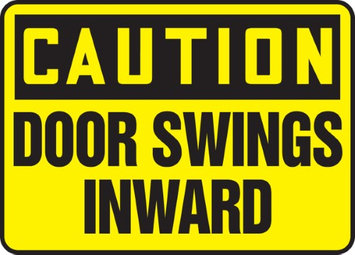 Accu Form Door Swings Inward