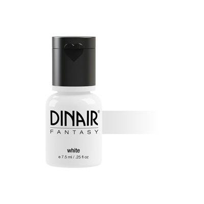Dinair Airbrush Makeup - Fantasy Bright Colors 4 Face & Body Art - WHITE .27 fl oz