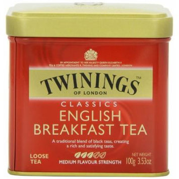 Twinings English Breakfast Tea, Loose Tea, 3.53 Ounce Tin, Garden, Lawn, Maintenance