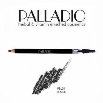 3 Pack Palladio Beauty Eyebrow Pencil 01 Black
