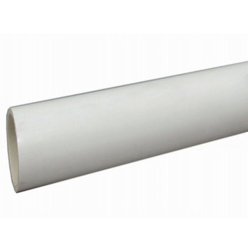 Charlotte Pipe 3/4-in x 10-ft 480-PSI Schedule 40 PVC Pipe PVC 04007 0600