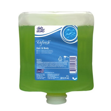 Debus Inc Deb Group 2 Liter Refill Green Refresh™ Pleasant Scented Hair And Body Shower Gel (4 Per Case)