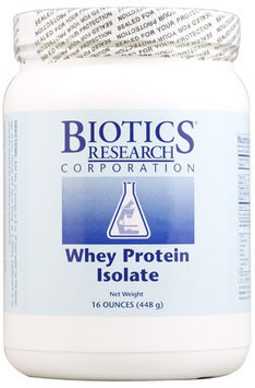 Biotics Research Whey Protein Isolate 16 oz