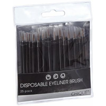 Chique Disposable Eyeliner Brush (Pack of 25)