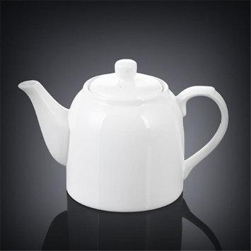Wilmax 994007 900 ml Tea Pot White - Pack of 18