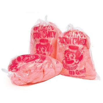 Paragon Plastic Cotton Candy Bag with Imprint, 1,000-Count Case